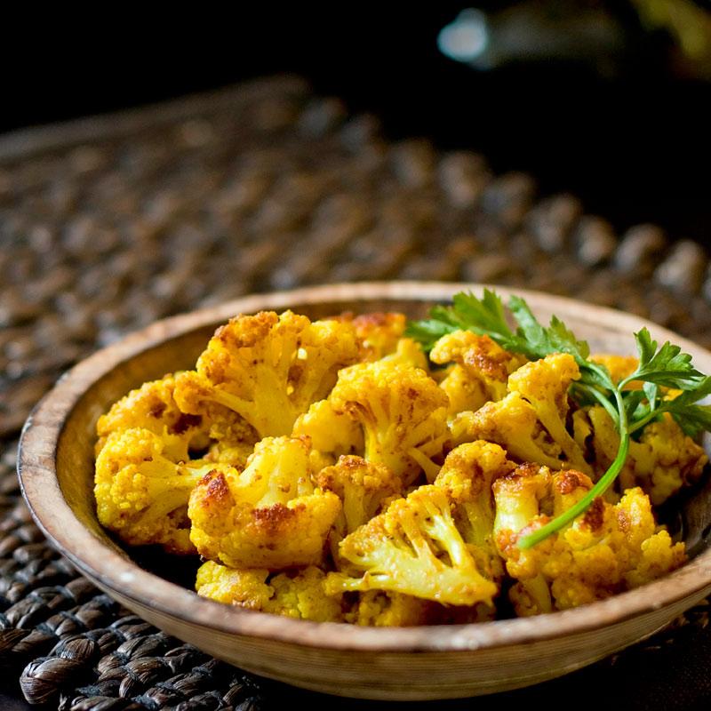 blumenkohl curry crunch einfach schnell gesund vegan. Black Bedroom Furniture Sets. Home Design Ideas