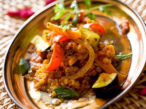 Linsen - Curry mediterran