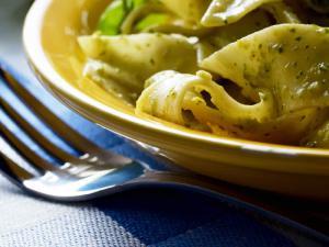 Pappardelle mit frischem Pesto