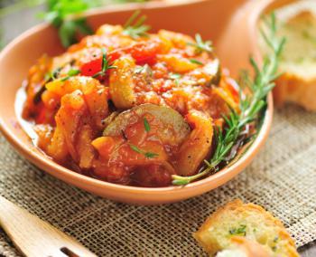 Ratatouille – ein gesundes, französisches Gemüse Rezept
