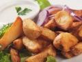 Kartoffelspalten vom Blech – Goldgelb und herrlich knusprig