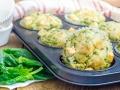 Muffins-mit-Spinat-und-Feta-form