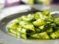 Zucchininudeln mit Grünkohl