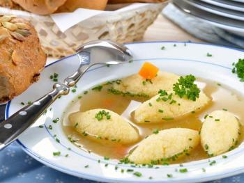 Griessnockerln Suppe