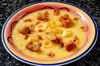 Kartoffel Lauch Karotten Suppe